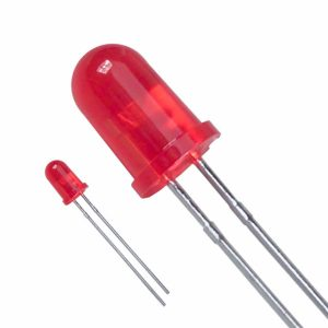 5mm led rood
